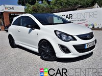 USED 2014 14 VAUXHALL CORSA 1.2 LIMITED EDITION 3d 83 BHP 1 OWNER + FULL SERVICE