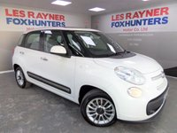 USED 2013 63 FIAT 500L 1.2 MULTIJET LOUNGE DUALOGIC 5d AUTO 85 BHP Full Fiat Service History , panoramic roof , Superb MPG , Stop start
