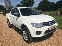 USED 2015 15 MITSUBISHI L200 2.5 DI-D 4X4 CHALLENGER LB DCB 1d 175 BHP SIDE BARS, PRIVACY GLASS