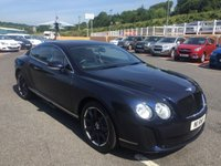 USED 2005 54 BENTLEY CONTINENTAL 6.0 GT SUPERSPORTS AUTO 550 BHP GT SUPERSPORTS Conversion costing approx £6,000.