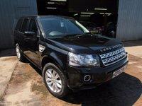 2012 LAND ROVER FREELANDER 2.2 SD4 HSE 5d AUTO 190 BHP £16995.00