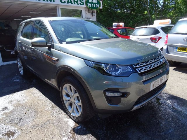 2015 15 LAND ROVER DISCOVERY SPORT 2.2 SD4 HSE 5d AUTO 190 BHP 7 SEATER