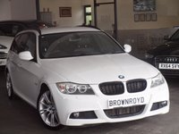USED 2011 61 BMW 3 SERIES 3.0 330D M SPORT TOURING 5d AUTO 242 BHP PRO SAT NAV+BLK LEATHER+FSH
