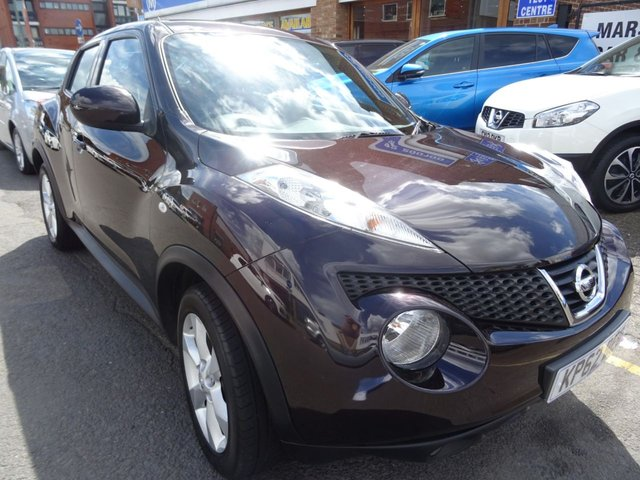 2012 62 NISSAN JUKE 1.5 ACENTA DCI 5d 110 BHP NIGHT SHADE/BLACK TRIM