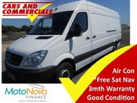 2012 MERCEDES-BENZ SPRINTER 313 LWB High Roof 129ps £7995.00