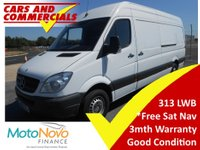 USED 2013 13 MERCEDES-BENZ SPRINTER LWB 313 High Roof 129ps