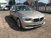 USED 2010 59 BMW 5 SERIES 3.0 530D SE GRAN TURISMO 5d AUTO 242 BHP Panoramic Roof-Navigation System-Reversing Assist Camera-Service History- Full Leather