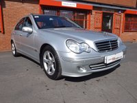 USED 2005 55 MERCEDES-BENZ C CLASS C220 CDI AVANTGARDE SE 2.1 4d AUTO FSH - 8 STAMPS - SUNROOF - NAV