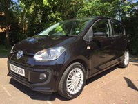 2013 VOLKSWAGEN UP 1.0 HIGH UP 5d 74 BHP £6295.00