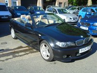 USED 2004 04 BMW 3 SERIES 2.0 318CI SPORT 2d 141 BHP 1 LADY OWNER SINCE 2004+CREAM LEATHER