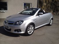 USED 2006 06 VAUXHALL TIGRA 1.4 SPORT 16V TWINPORT 2d 90 BHP *F.S.H**ELECTRIC HARD TOP**NICE CLEAN CAR*