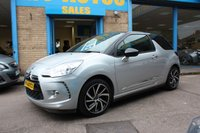 USED 2015 15 CITROEN DS3 1.6 E-HDI DSTYLE PLUS 3dr 90 BHP 1 OWNER | ARCTIC STEEL WITH CONTRASTING BLACK ROOF