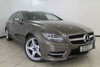USED 2013 13 MERCEDES-BENZ CLS CLASS 3.0 CLS350 CDI BLUEEFFICIENCY AMG SPORT 5DR AUTOMATIC 262 BHP FULL MERCEDES BENZ SERVICE HISTORY + LEATHER SEATS + CLIMATE CONTROL + PARKING SENSORS + BLUETOOTH + CRUISE CONTROL + MULTI FUNCTION WHEEL