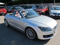 2007 AUDI TT 2.0 TFSI 2d 200 BHP CONVERTIBLE + FASH  £8699.00