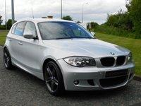 2011 BMW 1 SERIES 2.0 118D M SPORT 5d 141 BHP £7990.00
