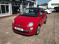 USED 2011 11 FIAT 500 0.9 LOUNGE 3d 85 BHP Air Conditioning-Alloy Wheels - 15in-Telephone Equipment Bluetooth Interface-Start/Stop System