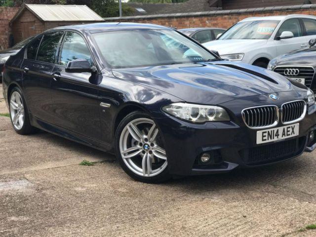 2014 14 BMW 5 SERIES 2.0 520D M SPORT 4d AUTO 181 BHP