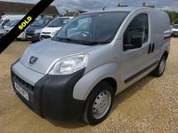 USED 2011 61 PEUGEOT BIPPER 1.4 HDI VERY LOW MILEAGE 21528 MILES FROM NEW