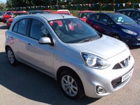 USED 2014 64 NISSAN MICRA 1.2 ACENTA 5d 79 BHP ****Great Value economical reliable family car with full main dealer service history, drives superbly****