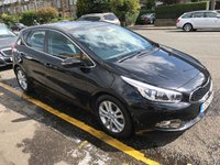 USED 2012 62 KIA CEED 1.6 2 ECODYNAMICS CRDI 5d 126 BHP PRICE INCLUDES 1 YEARS MOT AND A OIL & FILTERS SERVICE. THIS CAR HAS MANUFACTURER'S WARRANTY 12 MONTHS FREE BREAKDOWN COVER  THIS CAR HAS 5 SERVICE STAMPS IN THE BOOK