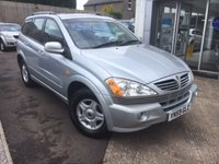 2010 SSANGYONG KYRON 2.0 EX 5d 4WD 140 BHP £3495.00