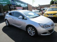 USED 2012 62 VAUXHALL ASTRA 2.0 GTC SRI CDTI S/S 3d 162 BHP FULL SERVICE HISTORY... JUST ARRIVED
