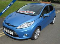 USED 2010 10 FORD FIESTA 1.6 TITANIUM TDCI 5d 89 BHP 64,000 GUARANTEED MILES - 1 OWNER + SUPPLYING DEALER - £20 PER YEAR ROAD TAX - DIESEL