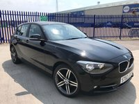 2012 BMW 1 SERIES 2.0 116D SPORT 5d 114 BHP £9500.00