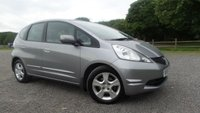 USED 2009 59 HONDA JAZZ 1.3 I-VTEC ES 5d 98 BHP 6 X SERVICE STAMPS, ALLOYS, AIR-CON, ELECTRIC WINDOWS AND MIRRORS, REMOTE LOCKING,