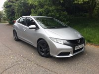 2013 HONDA CIVIC 1.8 I-VTEC TI 5d 140 BHP PLEASE CALL TO VIEW £7450.00