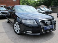 USED 2010 60 AUDI A6 2.0 TDI NAV 4d 134 BHP 1 OWNER FASH FULL LEATHER