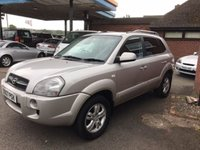 USED 2007 07 HYUNDAI TUCSON 2.0 LIMITED 5d 139 BHP ONE OWNER, FULL SERVICE HISTORY