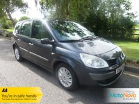 USED 2007 07 RENAULT SCENIC 1.6 PRIVILEGE VVT 5d 111 BHP FANTASTIC VALUE SEVEN SEAT GRAND SCENIC WITH ONE PREVIOUS LADY OWNER, AIR CONDITIONING, ALLOY WHEELS AND RENAULT SERVICE HISTORY
