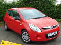 USED 2011 11 HYUNDAI I20 1.2 CLASSIC 3d FULL SERVICE HISTORY & 128 POINT AA INSPECTED