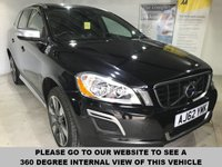 USED 2013 62 VOLVO XC60 2.4 D5 R-DESIGN NAV AWD 5d AUTO 212 BHP Full service history,    Full leather upholstery,       Heated front seats,       Bluetooth,        Satellite Navigation,        19-inch alloy wheels