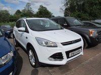2013 FORD KUGA 2.0 TITANIUM X TDCI 5d AUTO 160 BHP £13995.00