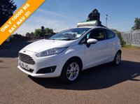 USED 2016 16 FORD FIESTA 1.0 ZETEC 3d 99 BHP LOW RATE CAR FINANCE AVAILABLE