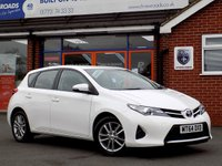 USED 2014 64 TOYOTA AURIS 1.4 ACTIVE D-4D 5d 89 BHP *ONLY 9.9% APR with FREE Servicing*
