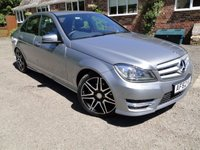 2012 MERCEDES-BENZ C CLASS 2.1 C250 CDI BLUEEFFICIENCY AMG SPORT PLUS 4dr AUTO £16100.00