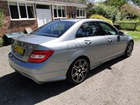 USED 2012 62 MERCEDES-BENZ C CLASS 2.1 C250 CDI BLUEEFFICIENCY AMG SPORT PLUS 4dr AUTO