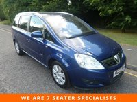 USED 2010 60 VAUXHALL ZAFIRA 1.7 ELITE CDTI ECOFLEX 5d 108 BHP FANTASTIC TOP OF THE RANGE ZAFIRA DIESEL WITH ONE PREVIOUS OWNER, SATELLITE NAVIGATION, FULL LEATHER SEATS, CLIMATE CONTROL, CRUISE CONTROL, ALLOY WHEELS AND SERVICE HISTORY