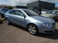 USED 2007 57 VOLKSWAGEN PASSAT 2.0 TDI SPORT DSG 4d AUTO 170 BHP 8 SERVICE STAMPS 12 MONTHS MOT SERVICED AT 24042M 27660M40845M 52618M 62252M 72412M  81929M 110609M ON THIS SERVICE IT HAD NEW CAMBELT AND WATER PUMP 2 KEYS LOTS OF RECIEPTS PLUS 2 KEYS