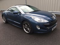 USED 2010 60 PEUGEOT RCZ 1.6 THP GT 200 BHP COUPE FSH, GREAT CONDITION, RAC WARRANTY