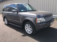 USED 2006 06 LAND ROVER RANGE ROVER VOGUE 3.0 TD6 AUTOMATIC 4X4 ESTATE FULL HISTORY, TOW BAR, RAC WARRANTY