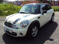USED 2010 60 MINI HATCH COOPER 1.6 COOPER D 3d 112BHP FSH+4STAMPS+VCLEAN+PEPPER PACK