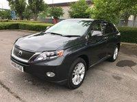 USED 2010 60 LEXUS RX 450H 3.5 450H SE-L 5d AUTO 249 BHP