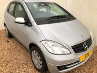 USED 2009 09 MERCEDES-BENZ A CLASS 1.5 A160 BLUEEFFICIENCY CLASSIC SE 5d 95 BHP