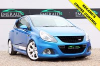 USED 2007 07 VAUXHALL CORSA 1.6 VXR 3d 192 BHP **£0 DEPOSIT FINANCE AVAILABLE**SECURE WITH A £99 FULLY REFUNDABLE DEPOSIT** FULL SERVICE HISTORY, FULL MOT, LOW MILES, HALF LEATHER RECARO'S,CRUISE CONTROL, AUX, PRIVACY GLASS, CD PLAYER, ELECTRIC WINDOWS, AIR CON