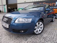 USED 2008 AUDI A6 2.7 TDI SE TDV 4d AUTO 177 BHP Excellent Condition, Large Comfortable Family Saloon,