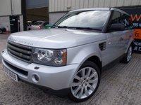 2007 LAND ROVER RANGE ROVER SPORT 2.7 TDV6 SPORT HSE 5d AUTO 188 BHP £13995.00